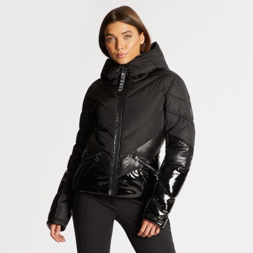 Dare 2B X Julien Macdonald - Women's Countess Waterproof Insulated Jacket Black